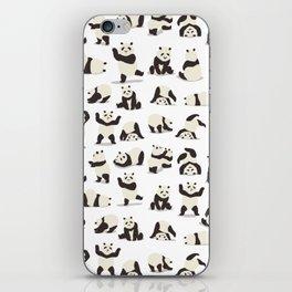 Pandas Party iPhone Skin