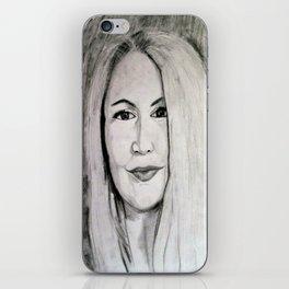 Womans Portrait iPhone Skin
