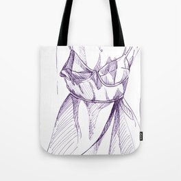 Bra-Top Dress Tote Bag
