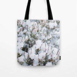 White Winter Hymnal Tote Bag