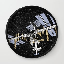 ISS- International Space Station Wall Clock