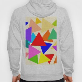 Colorful triangles Hoody