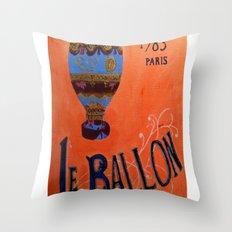 Le Ballon 1783 Throw Pillow