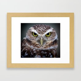 Are you talking to me? Framed Art Print