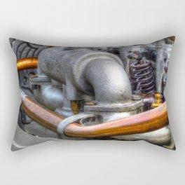 Vintage Racingcar Engine Rectangular Pillow