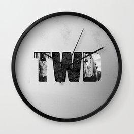 The Walking Dead 6 Morgan and Rick Wall Clock