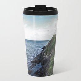Along the sea in Ireland Travel Mug