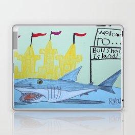 Bullshark Island Laptop & iPad Skin