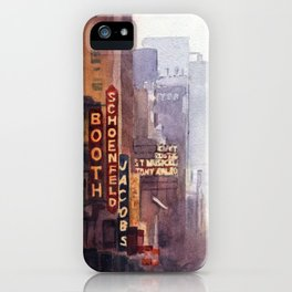 NYC - 45th Street iPhone Case