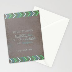 People With Many Interests... Stationery Cards
