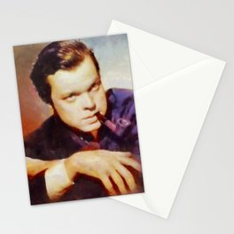 Orson Welles by SK Stationery Cards