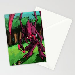 Prepare to be eaten Stationery Cards