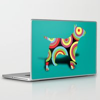 dogs Laptop & iPad Skins featuring dogs  by mark ashkenazi