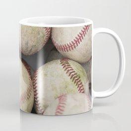 Many Baseballs - Background pattern Sports Illustration Coffee Mug