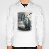 eric fan Hoodies featuring Armadillo by Eric Fan & Viviana Gonzalez by Viviana Gonzalez