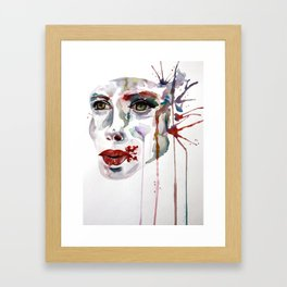 Blow to the Head Framed Art Print
