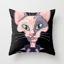 Pawnk Rawk Throw Pillow