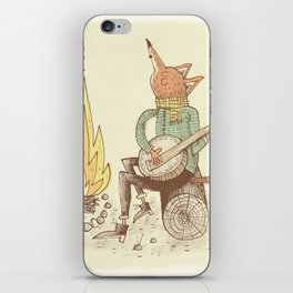 'Folk Tails' iPhone Skin