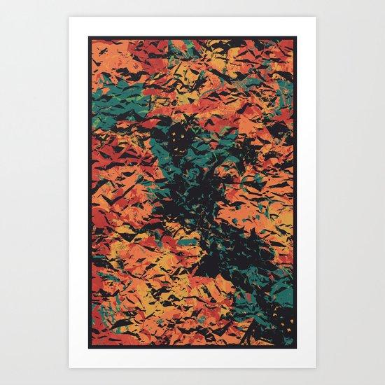 NEVER AGAIN Art Print