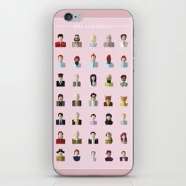 Wes Anderson Poster iPhone Skin