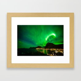 Celestial Crown Framed Art Print