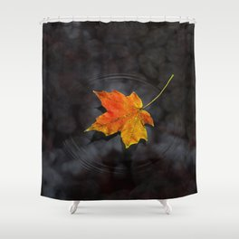 Haiku Shower Curtain