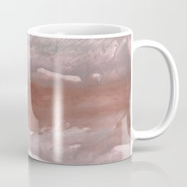 Rosy brown watercolor Coffee Mug