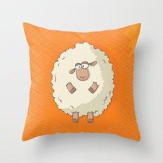 Giant Sheep Throw Pillow