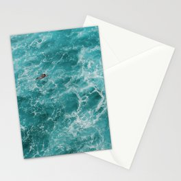 Ocean swim Stationery Cards