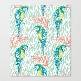 Tropical Pastels Canvas Print