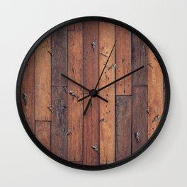Nailed Wall Clock