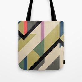 Modernist Dazzle Ship Camouflage Design Tote Bag