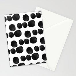 Cut Dot Polka Dot Rhythm Stationery Cards