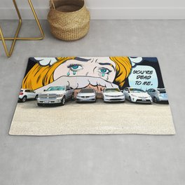 YOU'RE DEAD TO ME! Rug