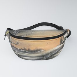 The winter cabin Fanny Pack