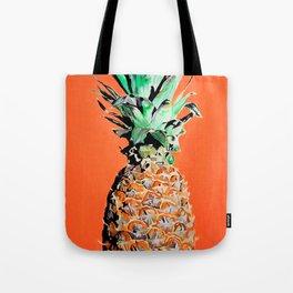 Pineapple pop art painting Tote Bag
