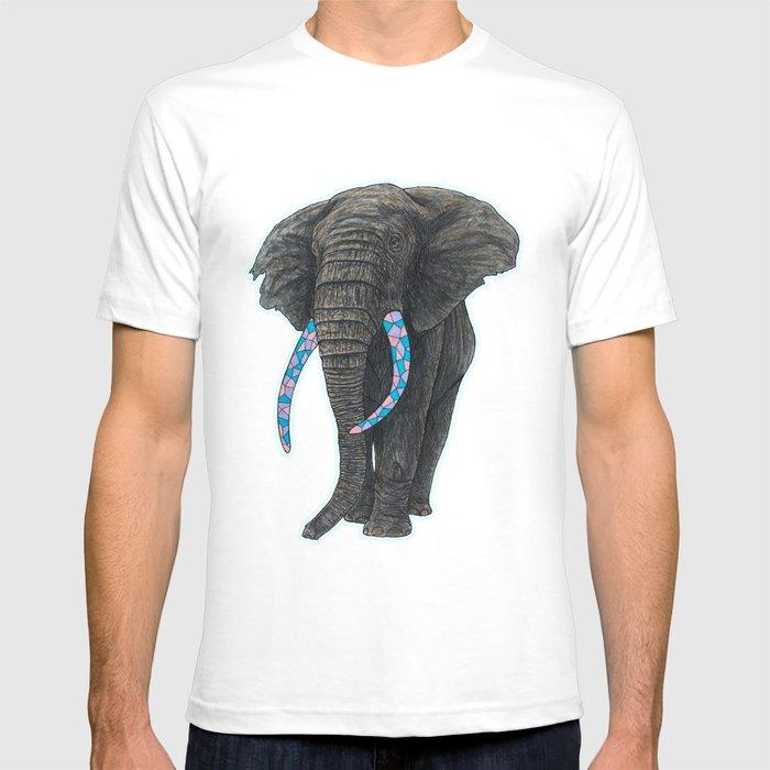 aa6736fe5 BLUE ELEPHANT T-shirt by paddlesworth