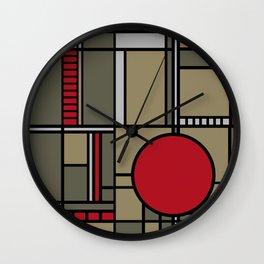 Classic Prairie Style Wall Clock