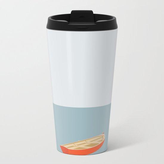 OCEAN SVØMMERE No.01 (Boat) Metal Travel Mug