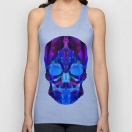 Neon Skull Unisex Tank Top