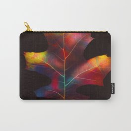 Rainbow Leaf Carry-All Pouch