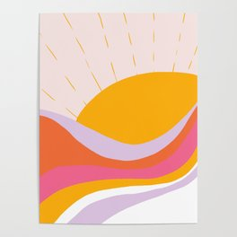 laurel canyon sunrise Poster