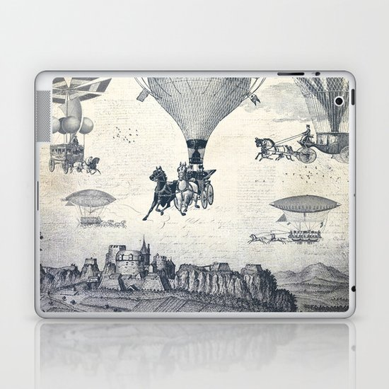 Carrilloons over the City Laptop & iPad Skin