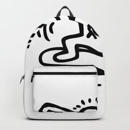 Skate Inspired to Keith Haring Backpack