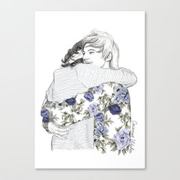 Larry Canvas Print