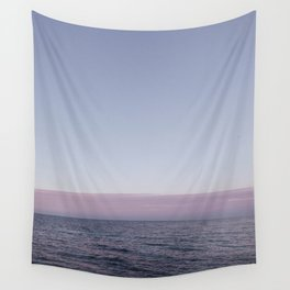 Calm sea before sunrise Wall Tapestry