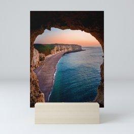 Tropical Sea Cave Mini Art Print