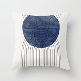 Blue Perfect Balance Throw Pillow