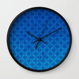 D20 Celestial Crit Pattern Premium Wall Clock