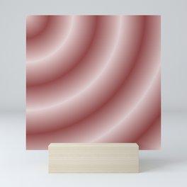 Circular Mystery in Pink Mini Art Print